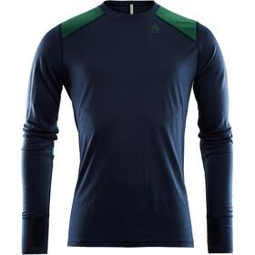 Aclima LightWool Crew Neck Shirt Heren, blauw